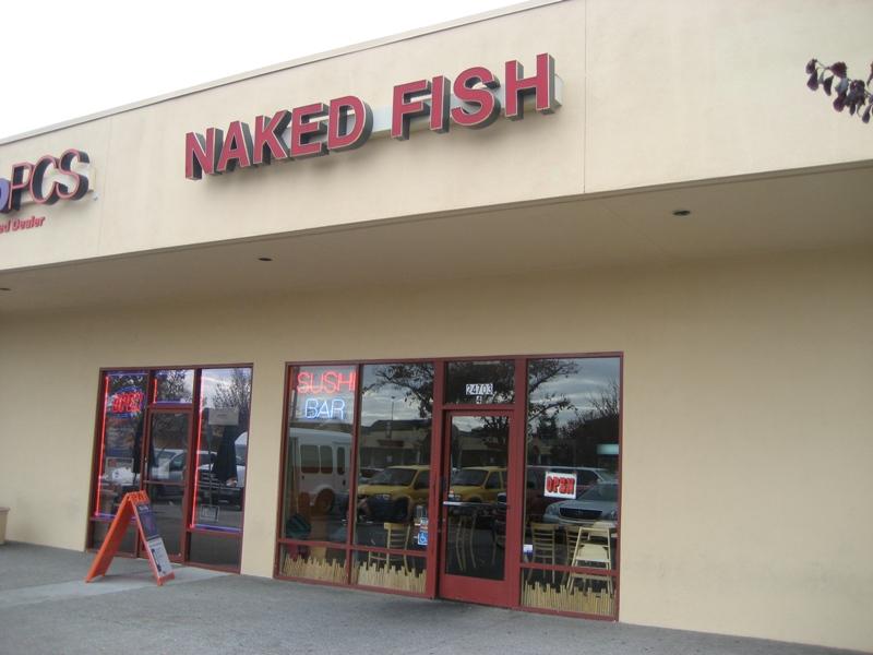 Naked fish menu hayward are not