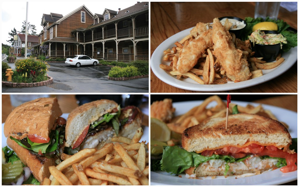 Farm House Restaurant Collage