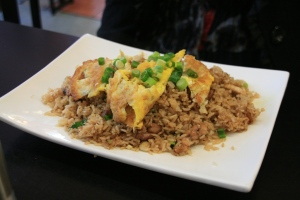 Arroz Chaufa de Carne o Pollo