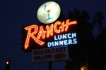 The Ranch sign