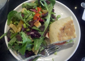 Salad and Sandwich