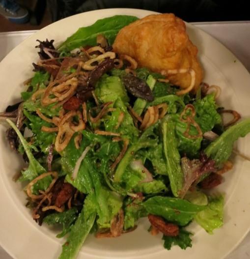 Brie en Croute Salad $8.50