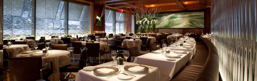 Inside Le Bernardin -- from website le-bernardin.com