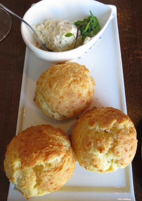 Gruyere Gougeres with French Onion Dip - $5