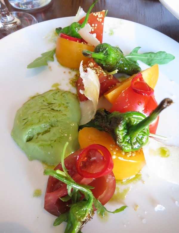 Heirloom Tomato Salad - $13