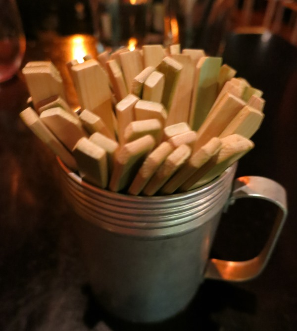 Adorable fondue stabby toothpick thingies