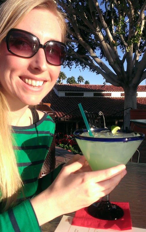 margaritas may be larger than they appear