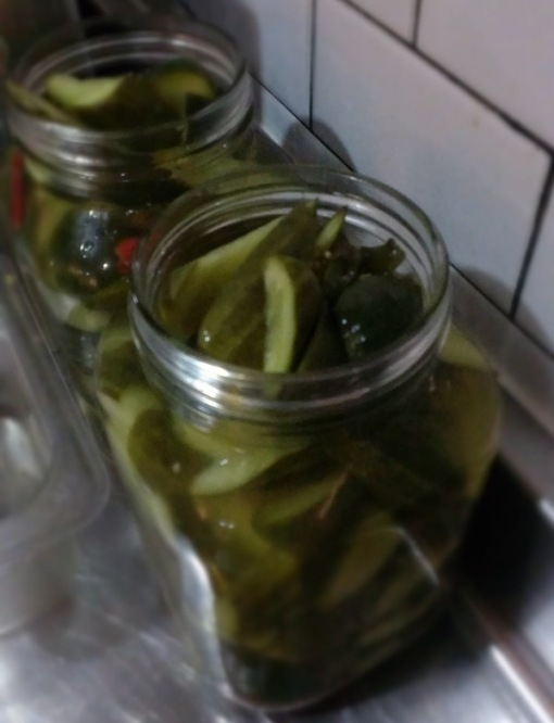 Pickles and pickles and pickles and pickles...