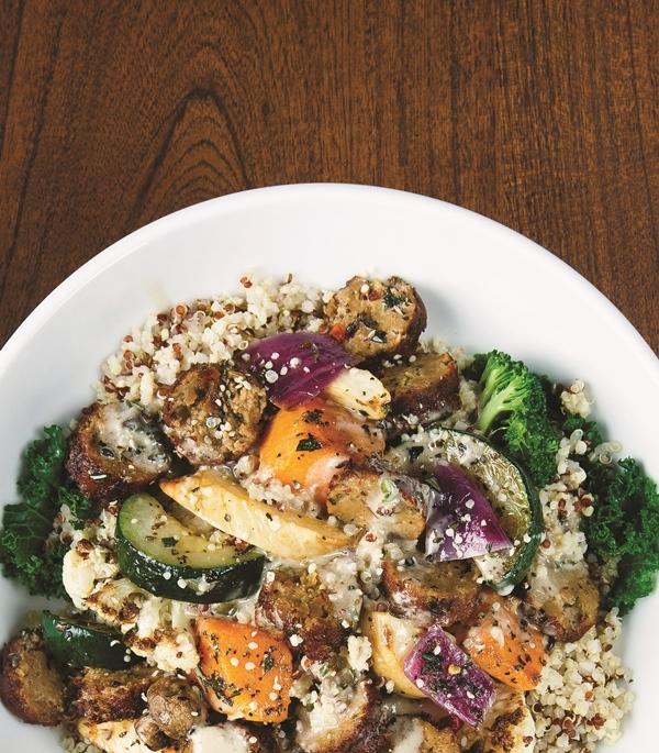 Harvest Bowl $8.95 Photo Courtesy of veggie grill