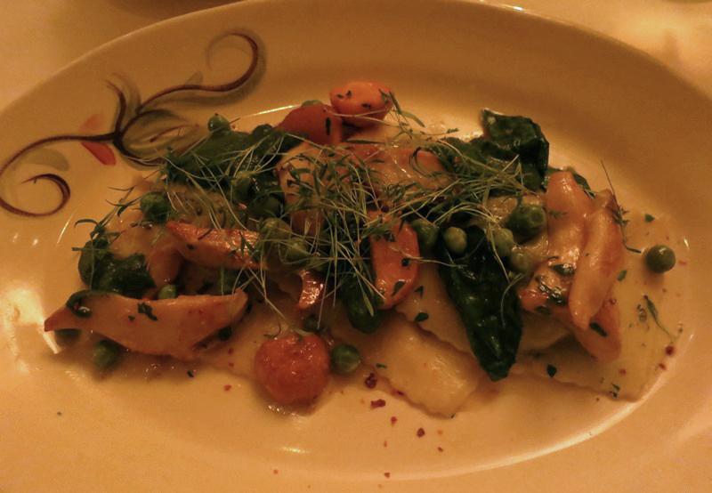 veggie ravioli