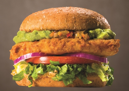 Santa Fe Crispy Chickin' Sandwich Photo Courtesy of veggie grill
