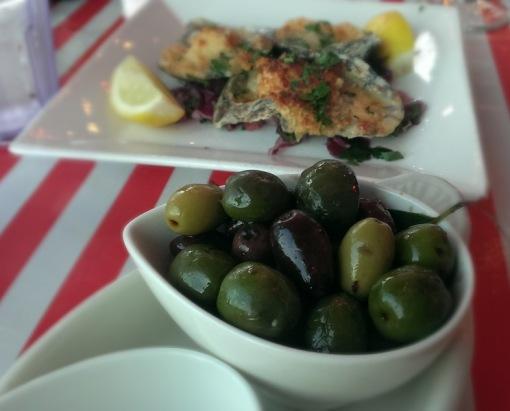 Olives -- $7