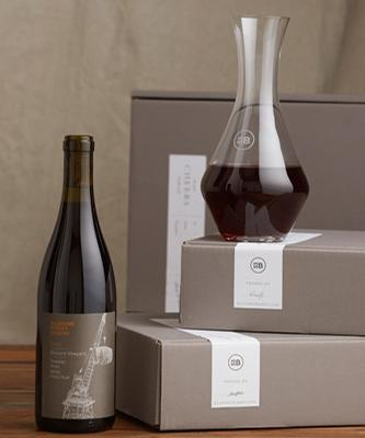 Bluxome Street Winery 2012 Balinard Vineyard Pinot Noir and Riedel Decanter - $74