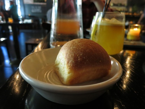 Delicious homemade bread starter at The Square